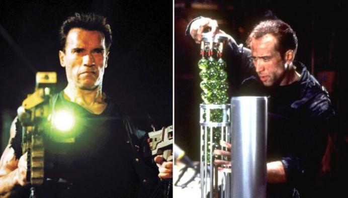 Arnold Schwarzenegger hefði leikið í The Rock?