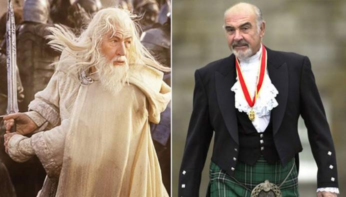 Sean Connery hefði leikið Gandalf?